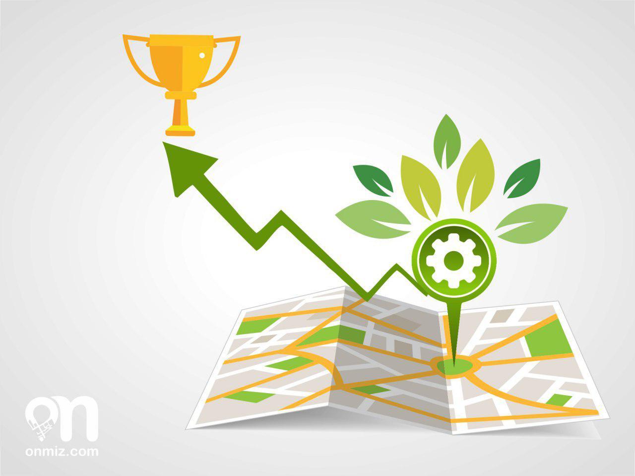 افزایش فروش با نقشه رشد