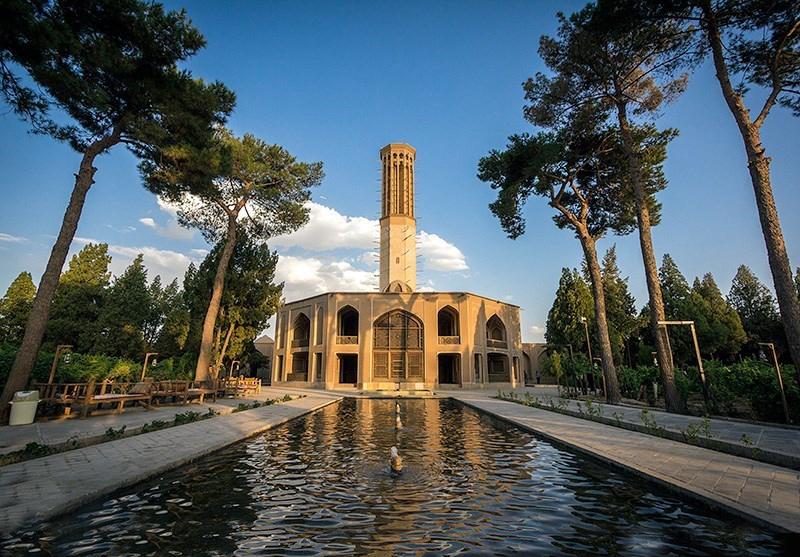 تصویر باغ دولت آباد یزد