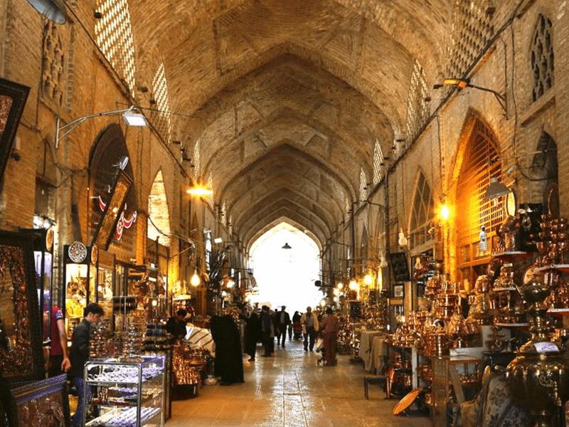 مراکز خرید اصفهان-بازار قیصریه