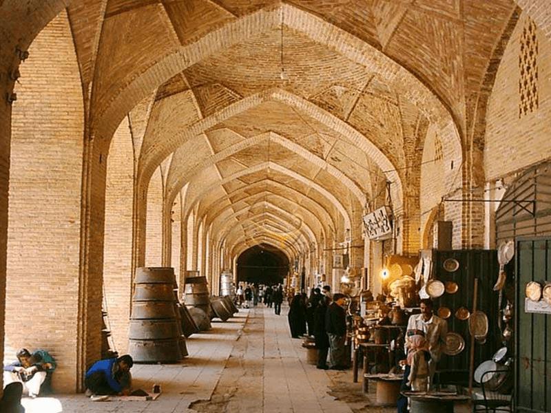 بهترین مراکز خرید شهر کرمان-بازار بزرگ کرمان یا همان بازار گنجعلی خان