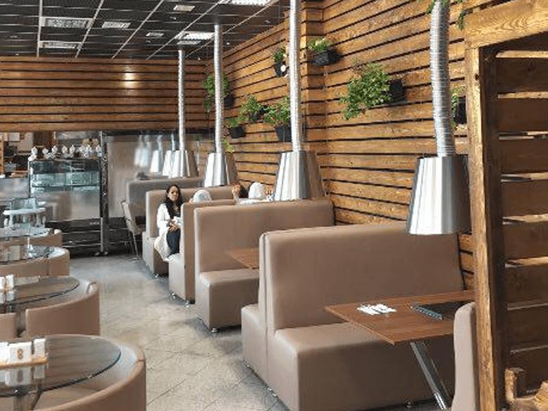 بهترین رستوران های کرمان-رستوران فرنگی دودکش