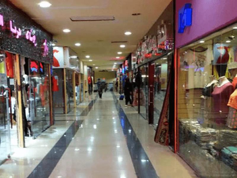 بهترین مراکز خرید شهر کرمان-پاساژ زمرد