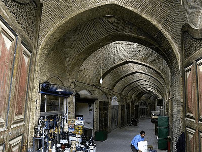 بازار-تبریزیان-یزد