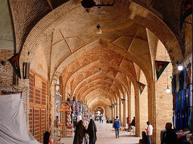 بازار-خان-یزد