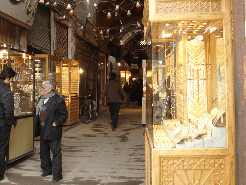 بازار-زرگری-یزد